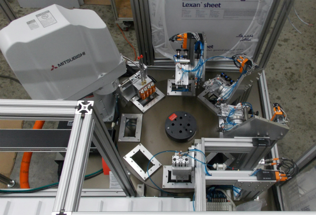 Vision-Guided Robot Packaging Machine